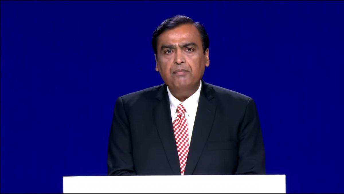 Reliance Industries (RIL) Chairman Mukesh Ambani