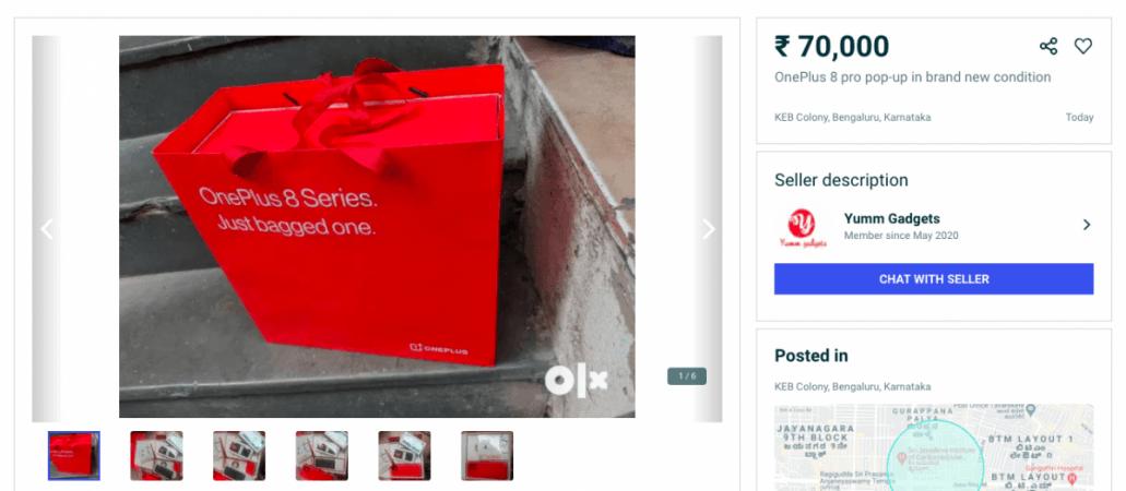 OnePlus 8 Pro op OLX