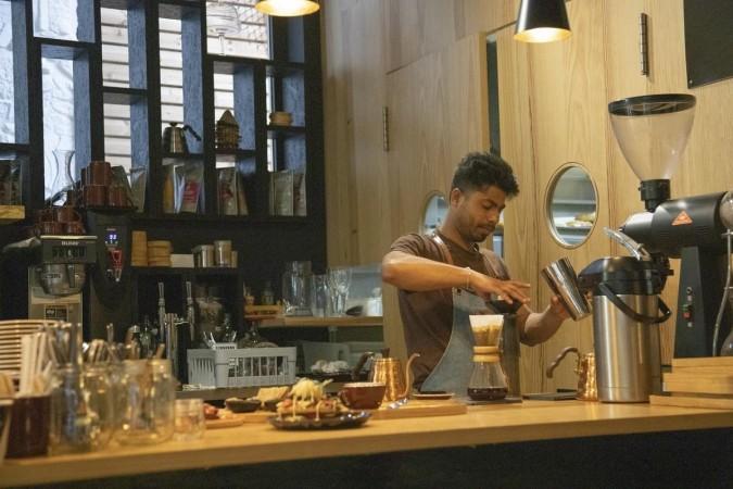 Zelfstandige café-outlet