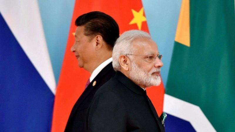 Relaties tussen India en China