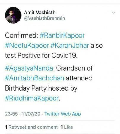 screen scarb van virale post
