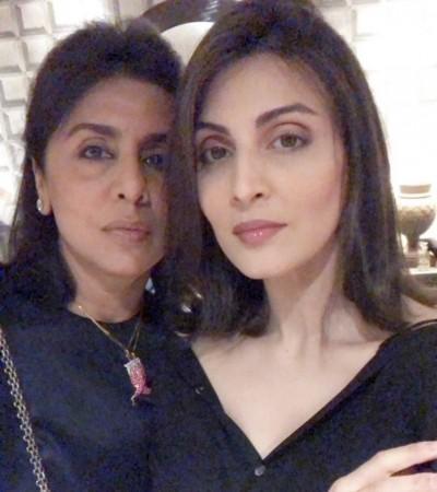 Riddhima en Neetu Kapoor