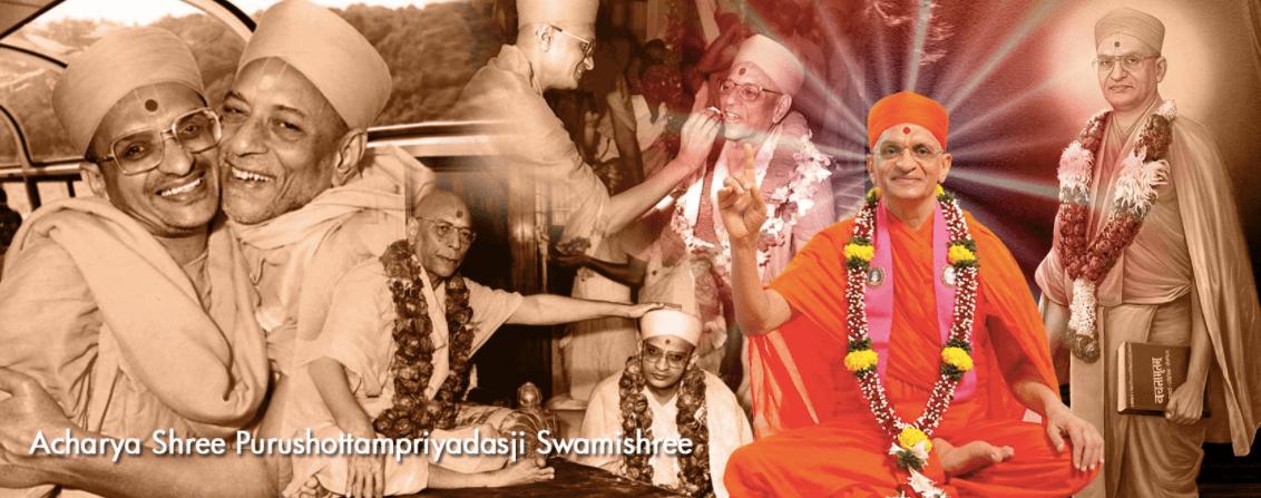Acharya Shree Purushottam Priyadasji Swamishree