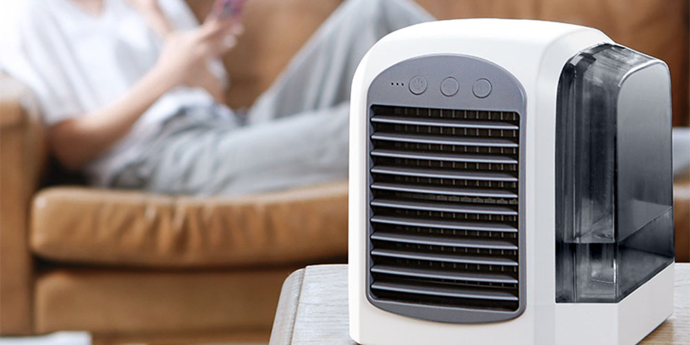 Een draagbare airconditioning