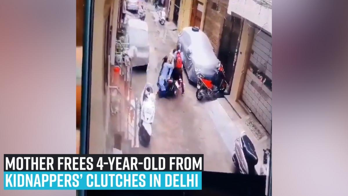 Mother frees 4-year-old from kidnappers' clutches in Delhi