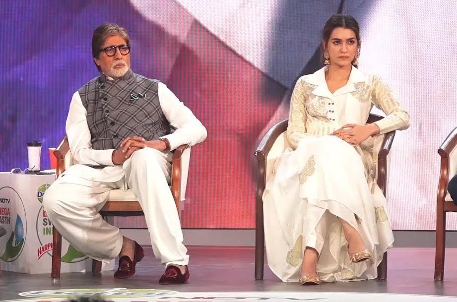 Amitabh Bachchan, Kriti Sanon