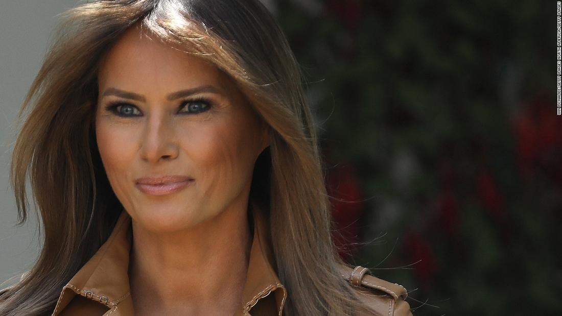 Melania shares the hardest part of job