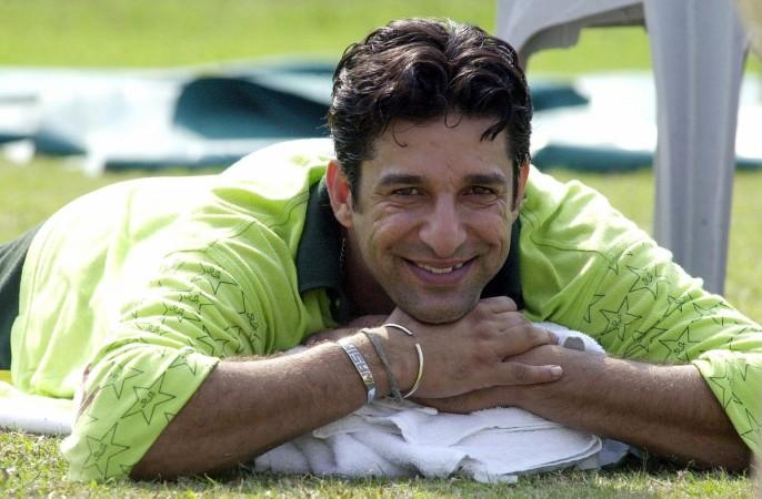Pakistaanse tempo-sensatie Wasim Akram