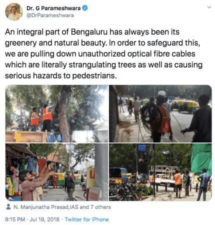 G Parameshwara tweet