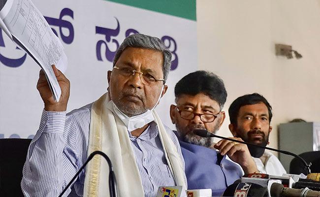 """Over de beweringen van het Karnataka-congres eist BJP """"Onvoorwaardelijke verontschuldiging"""""""
