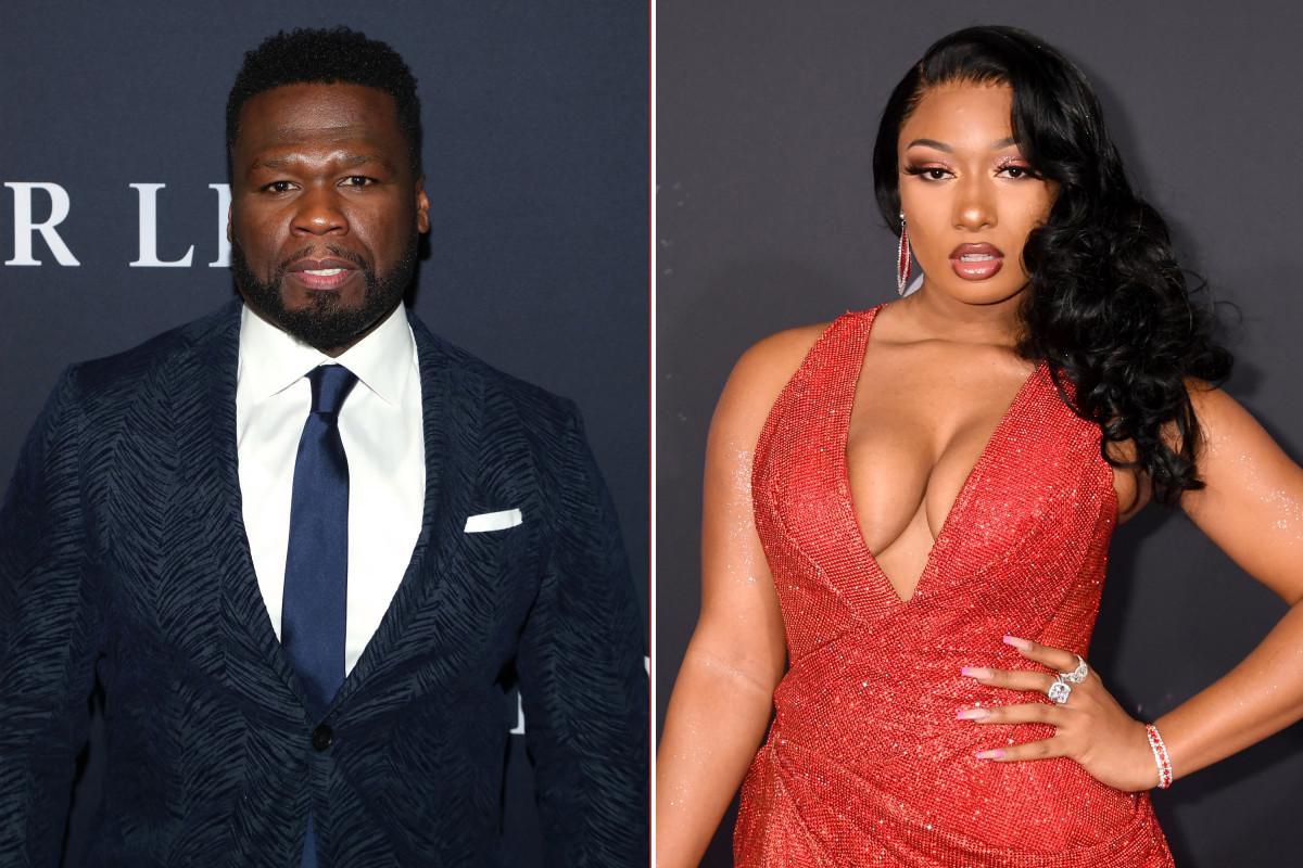 50 Cent verontschuldigt zich bij Megan Thee Stallion voor het maken van plezier met fotograferen