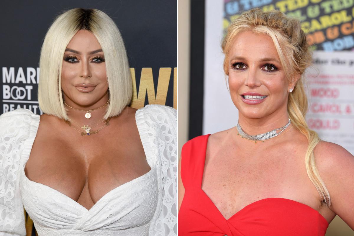 Aubrey O'Day zegt dat ze het moeilijk vindt te geloven dat Britney Spears gevangen wordt gehouden