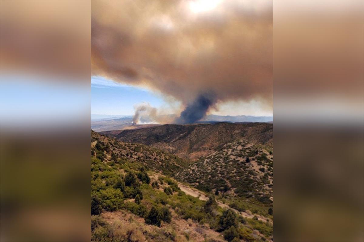 Brandweervliegtuigen uit Nevada botsen in de lucht en doden beide piloten
