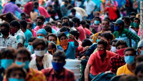 India registreert 1 miljoen gevallen van Covid-19 ... en het zijn de armsten die het hardst worden getroffen