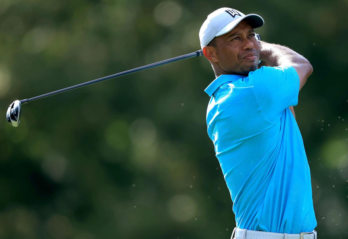 De herdenkingsronde van Tiger Woods, omgeven door stilte, een griezelig gevoel