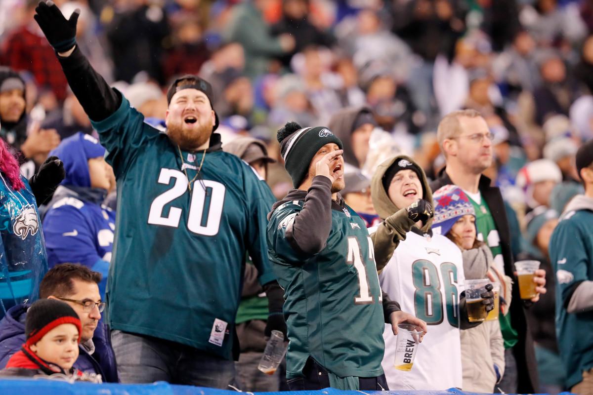 Fans zijn niet toegestaan bij de thuiswedstrijden van Eagles, Phillies
