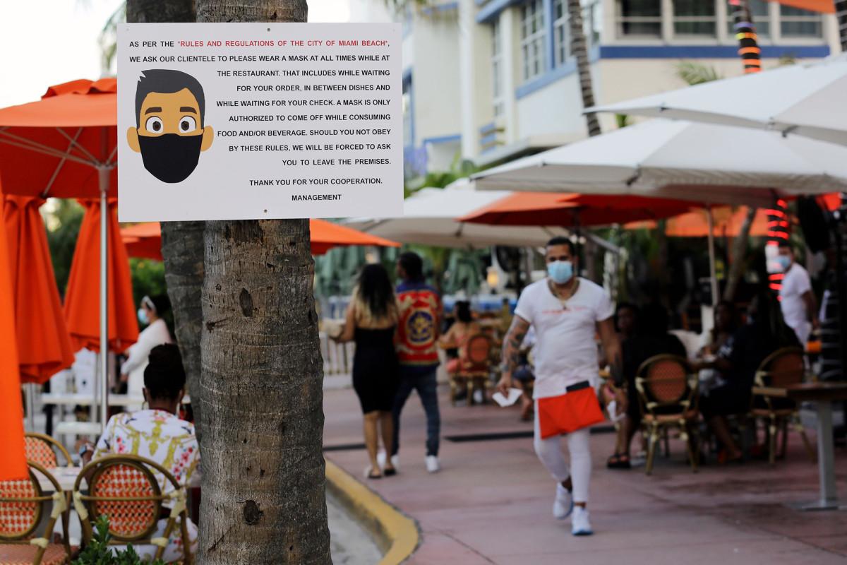 Florida overtreft het coronavirus-aantal in New York en registreert 78 doden
