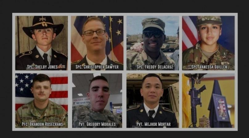 Slachtoffers van Fort Hood