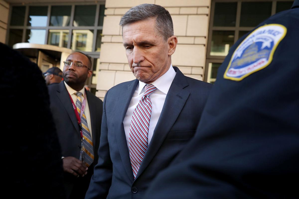 Het Flynn-verdedigingsteam zegt dat documenten vervolging wangedrag vertonen