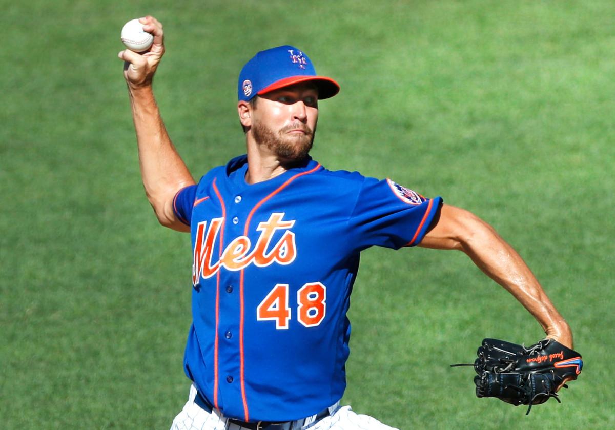 Jacob deGrom zegt dat hij in orde is, en de Mets hebben hem nodig om gelijk te hebben