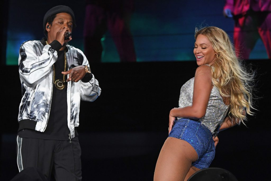 Jay-Z schopte collega-rappers van de set van zwoele Beyoncé-video