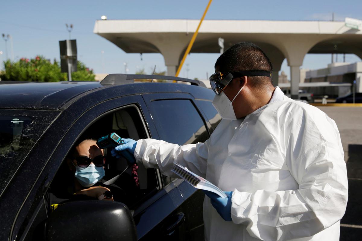 Mexico voegt voor het weekend van 4 juli anti-COVID-controleposten toe aan de Amerikaanse grens