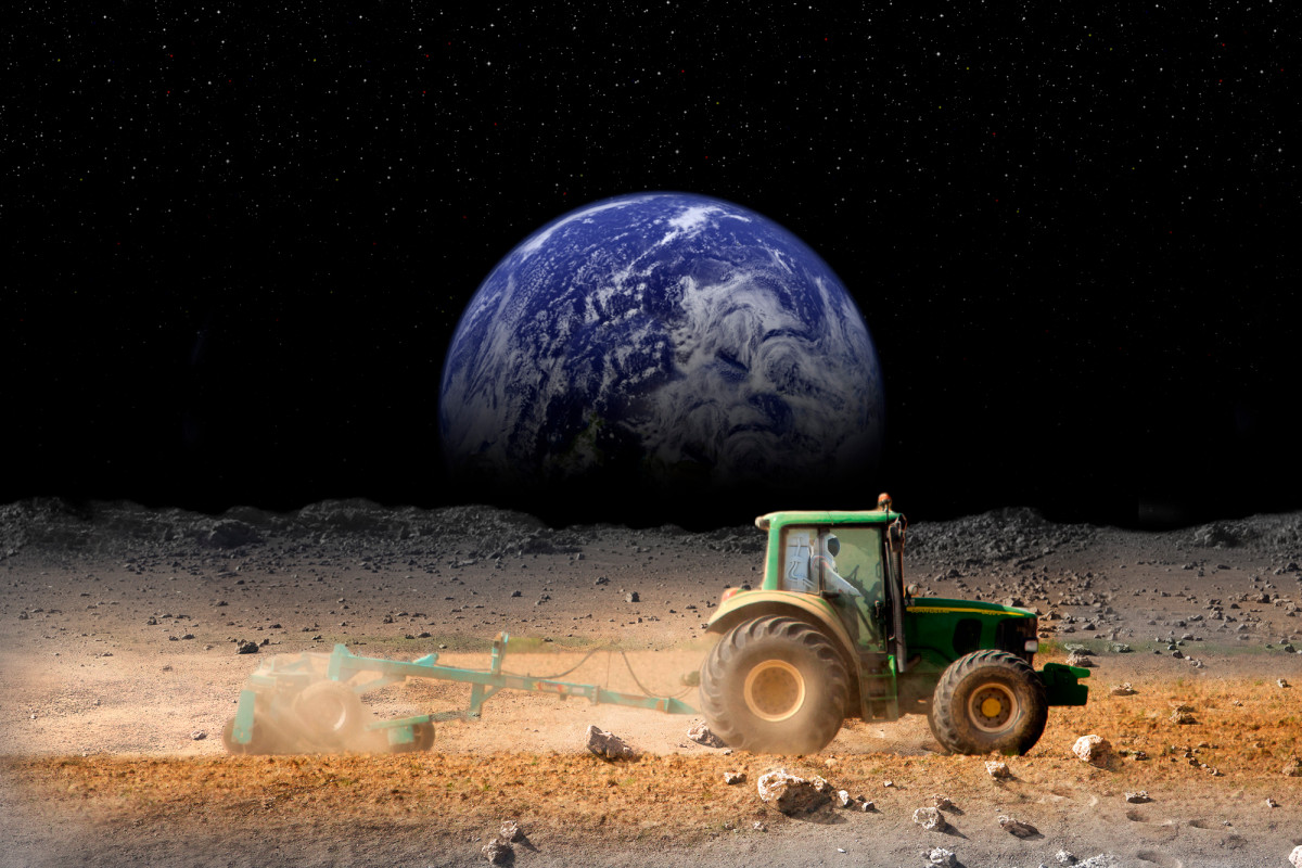 NASA-wetenschapper kweekt 'maanradijsjes' in zijn eigen keuken