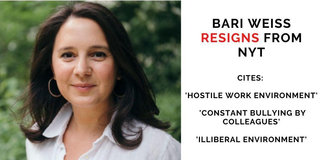 Bari Weiss resigns:
