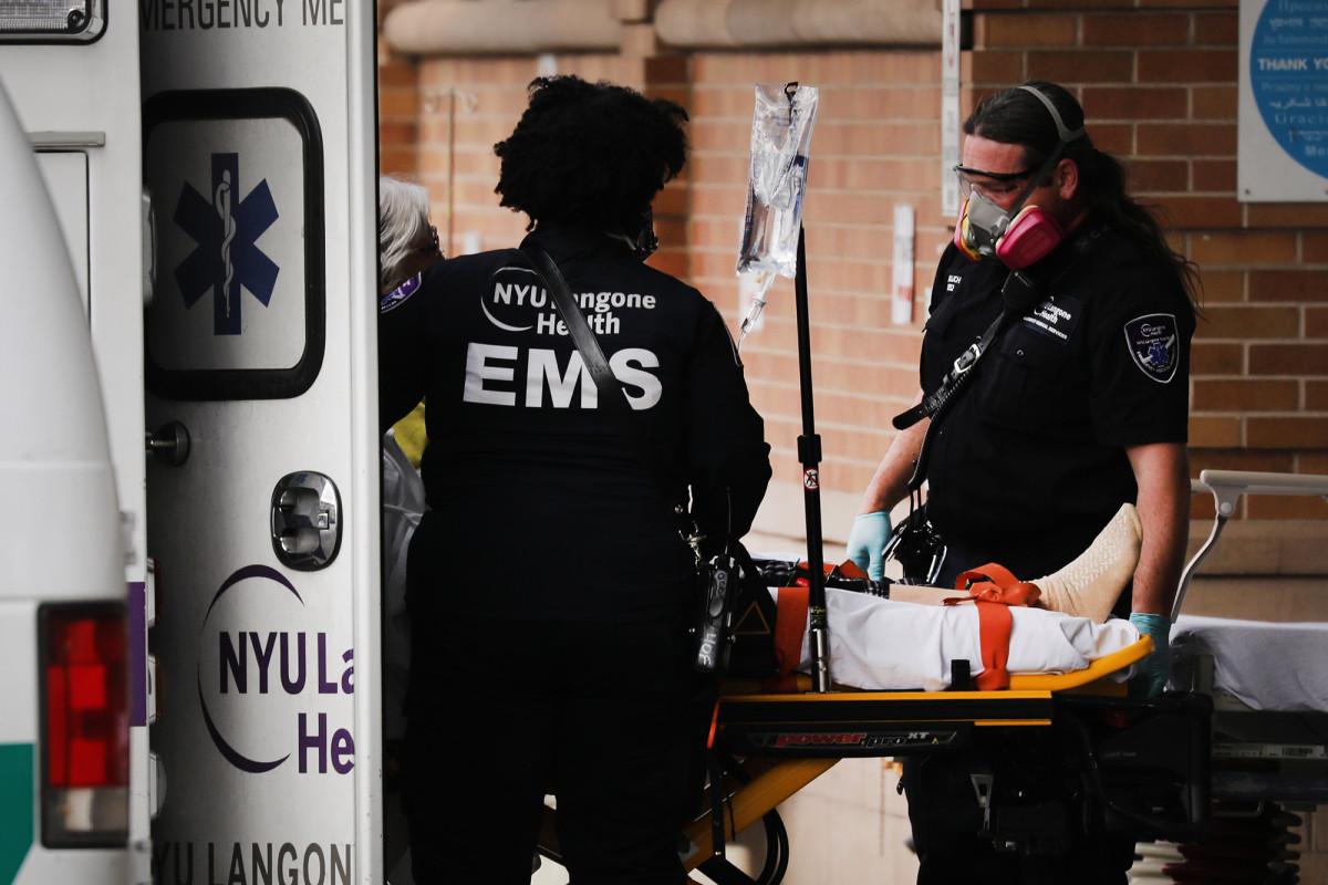 New Yorkers vrezen een nieuwe uitbraak van coronavirus die naar NYC gaat
