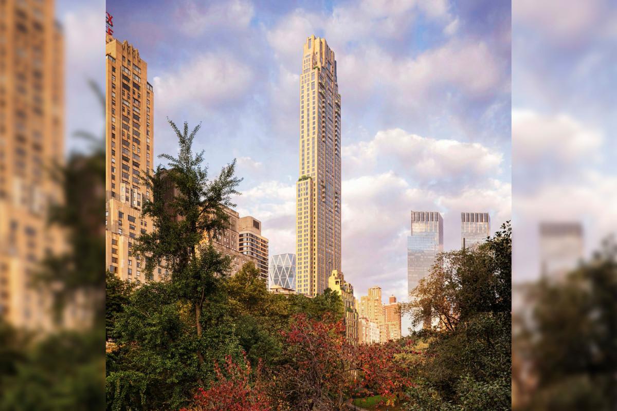 Penthouse 220 Central Park South verkoopt voor $ 102 miljoen