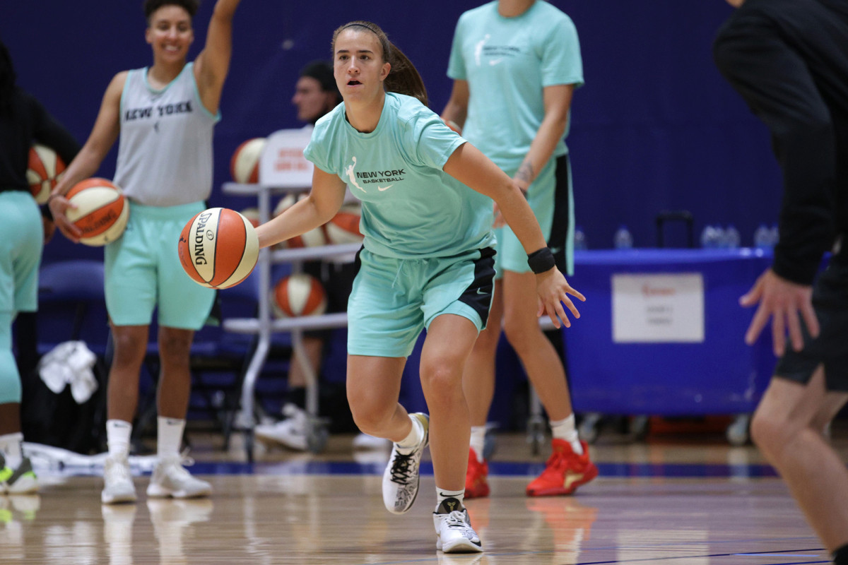 Sabrina Ionescu van Liberty vindt troost in de WNBA-bubbel