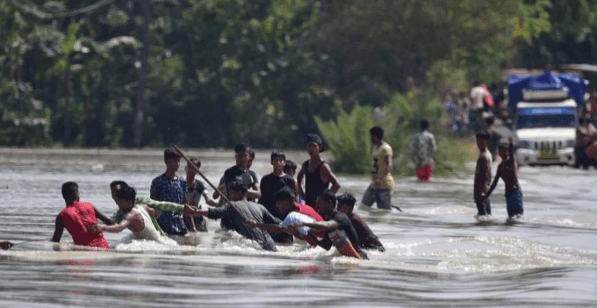 Assam overstroomt 2020