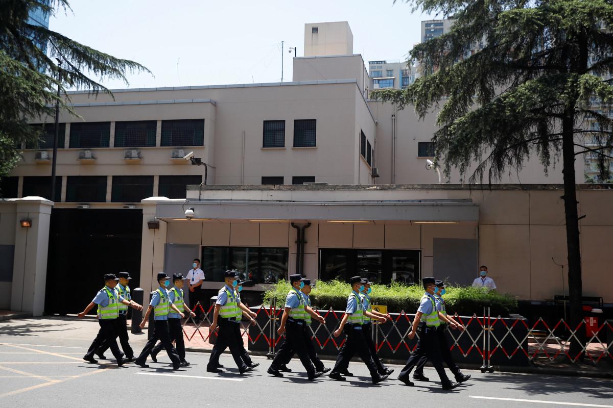 VS sluit consulaat van Chengdu in China, na opdracht van Houston