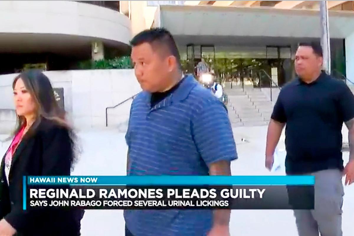 Voormalige agent uit Honolulu veroordeeld voor het dwingen van dakloze mannen om urinoir te likken