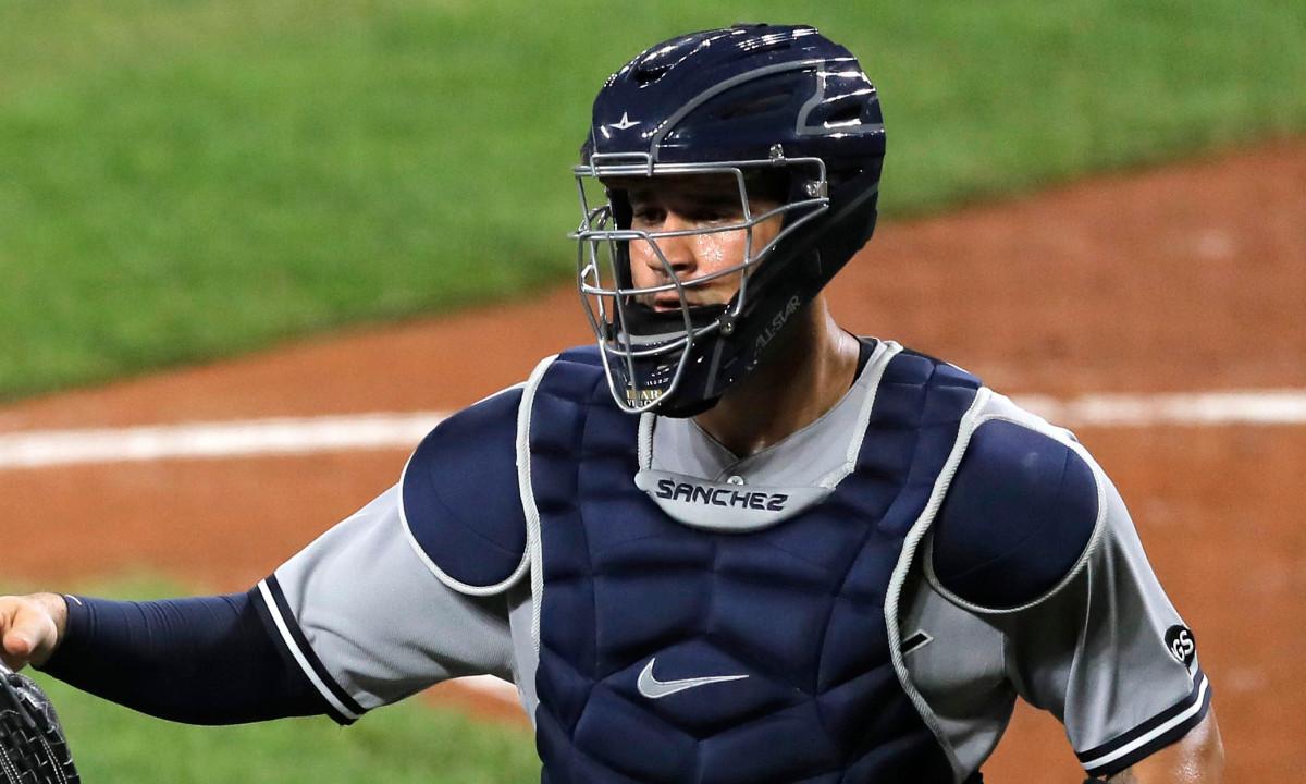 Yankees 'Gary Sanchez, Brett Gardner nog steeds 0 voor het seizoen