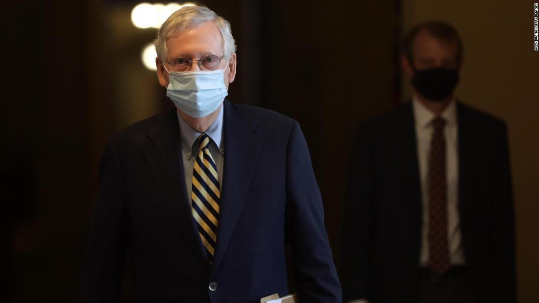 McConnell-signaal aan kandidaten van de Republikeinse Senaat: indien nodig afstand tot Trump