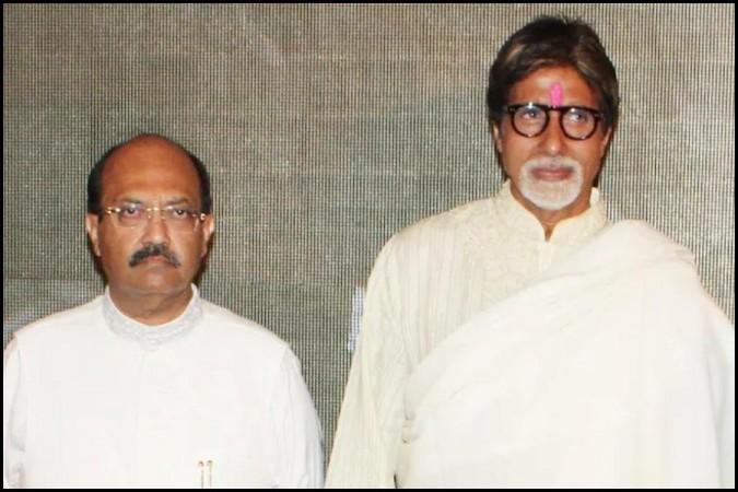 Amar Singh en Amitabh Bachchan