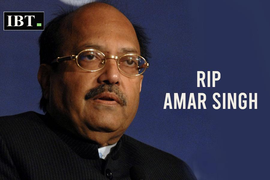 Watch: Last video of Amar Singh apologising to Amitabh Bachchan while lying on death bed