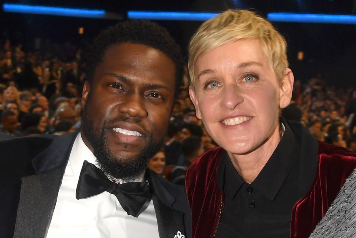 Kevin Hart verdedigt Ellen DeGeneres: het is 'gek' om haar hier doorheen te zien gaan