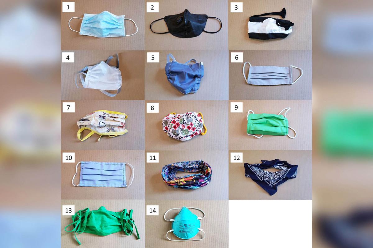 Wetenschappers hebben 14 soorten maskers getest om verspreiding van COVID-19 te voorkomen
