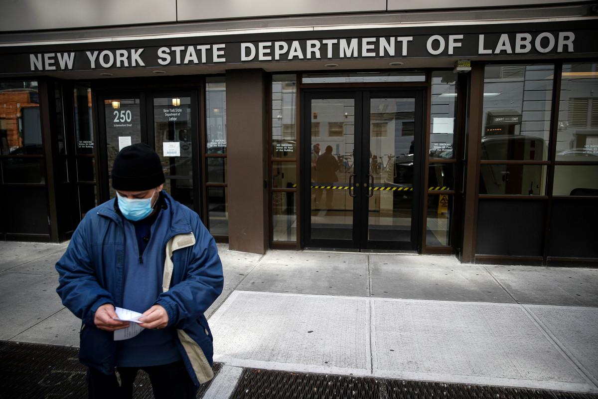 NY stopte meer dan $ 1 miljard aan werkloosheidsfraude te midden van COVID-19