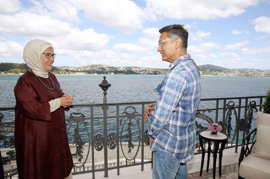 Bollywood superstar Aamir Khan meets Turkish First Lady Emine Erdogan