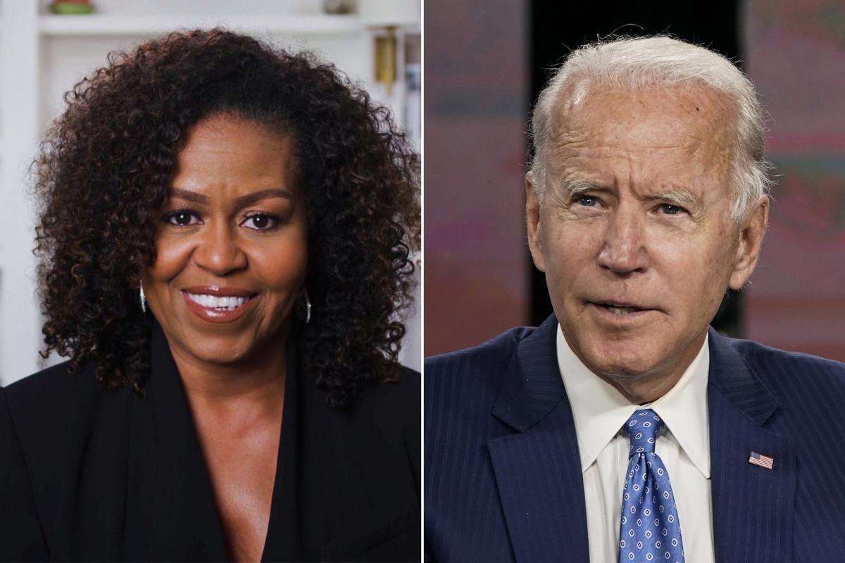 Michelle Obama noemt Biden 'zeer fatsoenlijk' in congrestoespraken