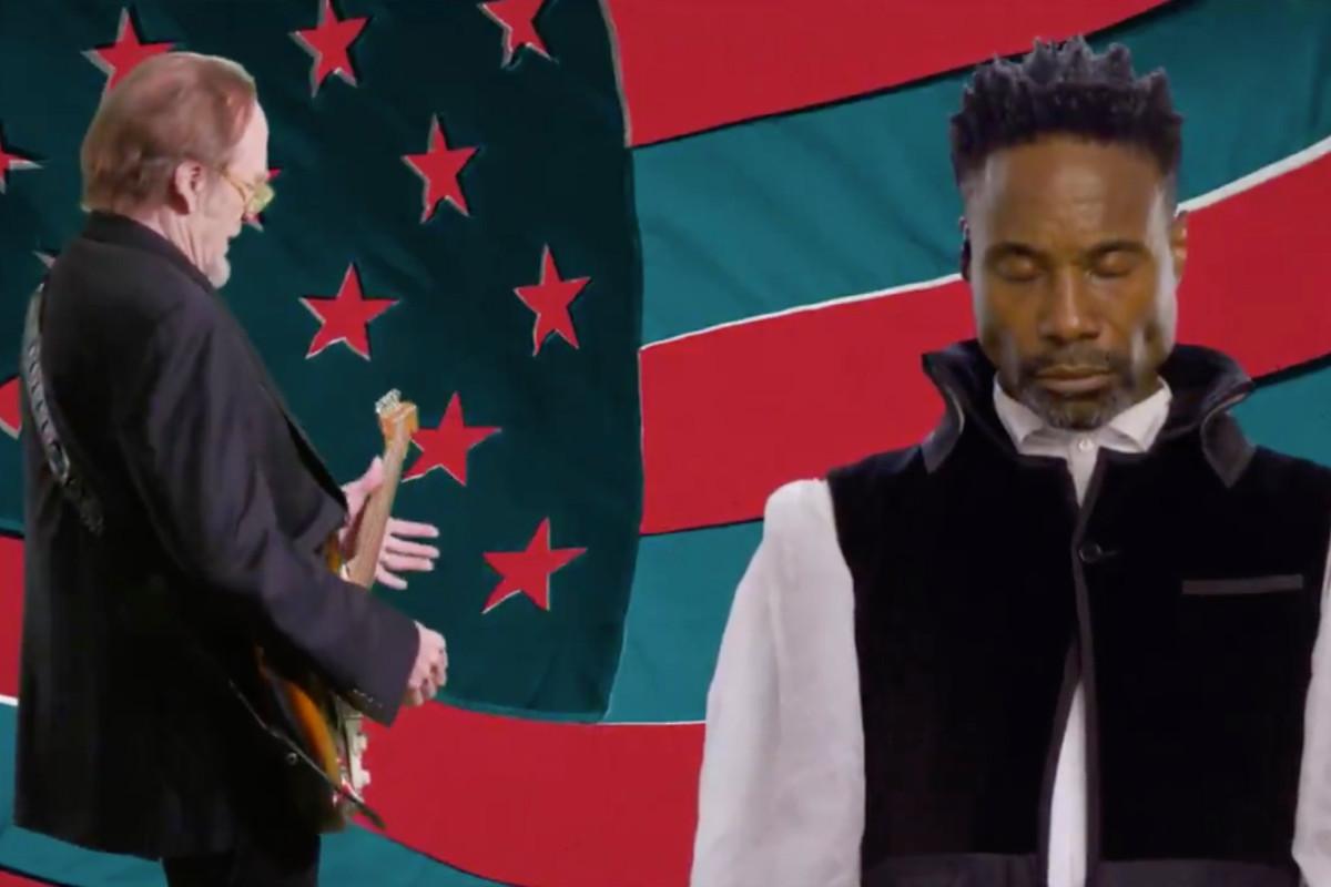 De eerste dag van DNC wordt afgesloten met een bizarre Billy Porter-muziekvideo