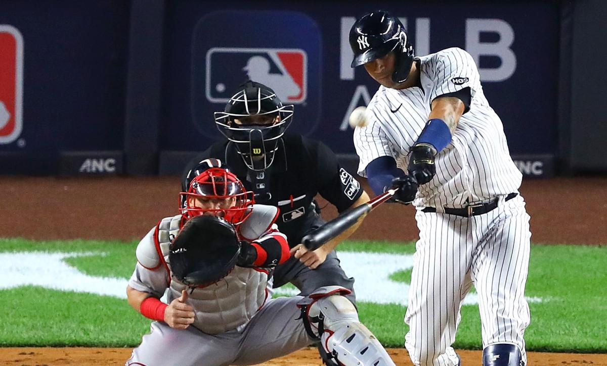 Gary Sanchez, Gleyber Torres begon Yankees een lift te geven