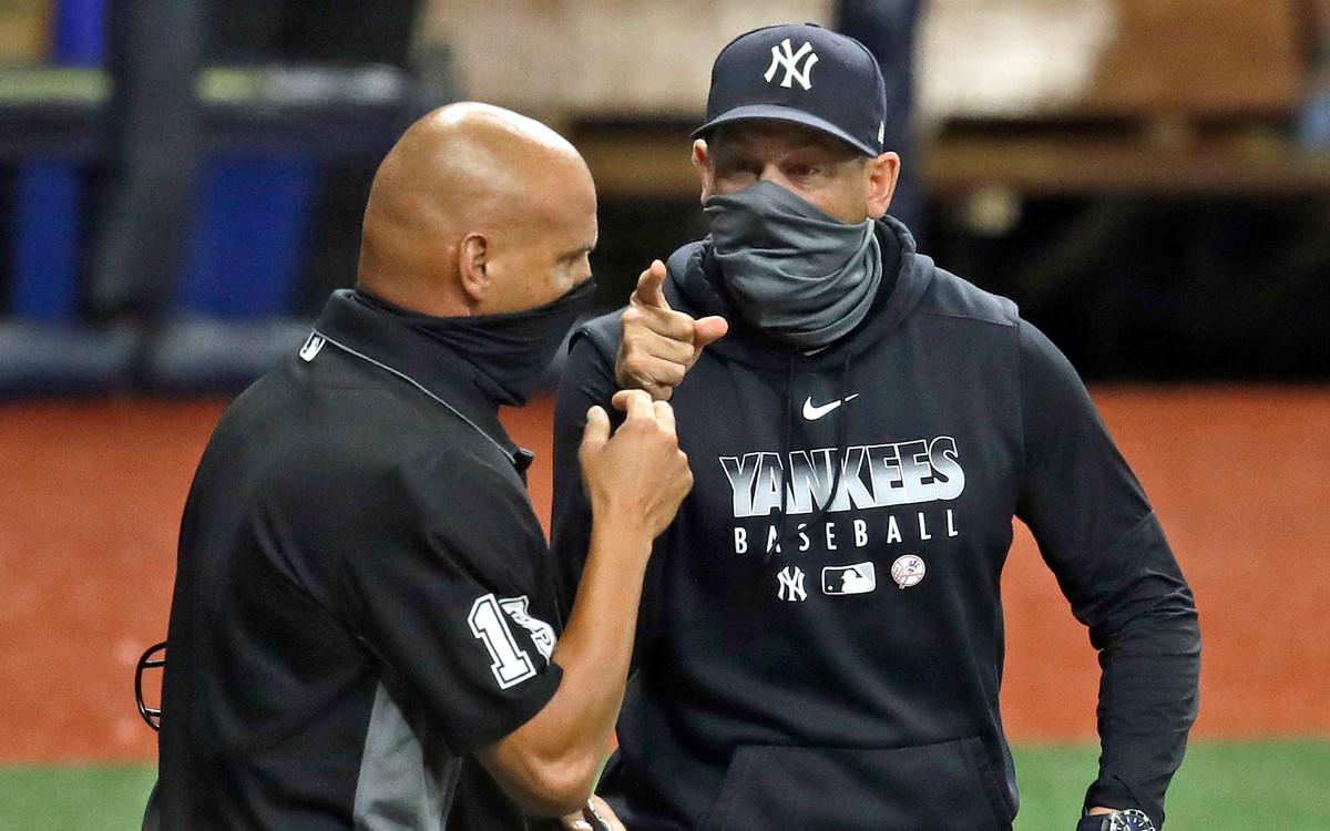 In Yankees 'uitwerping van Aaron Boone:' Zowat de geschiedenis '