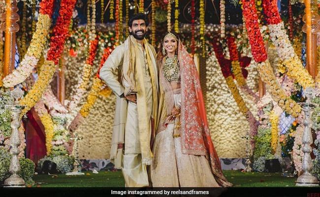 Inside Pics From Miheeka Bajaj And Rana Daggubati's Wedding