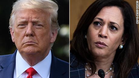 Trump & # 39; s liegen over Kamala Harris vergroot racistische thema's van zijn campagne