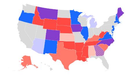 Drie grafieken die laten zien hoe Republikeinen hun kans om de Senaat te behouden verliezen