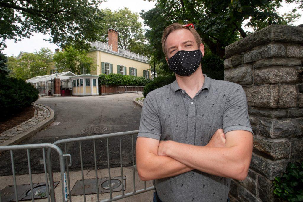 Upper East Siders woedend over de zware beveiliging van Gracie Mansion